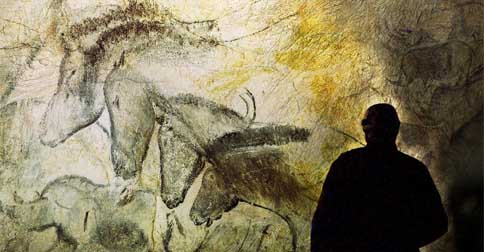 picture of cave art from cave of forgotten dreams